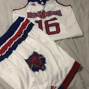 adidas Portland RedWolves Women's Basketball Uni